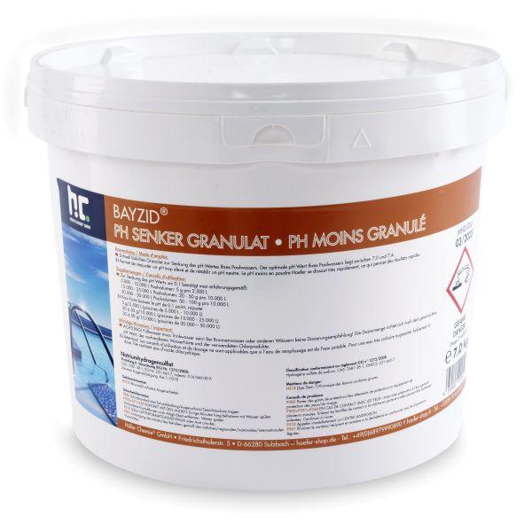 Höfer Chemie BAYZID® pH Senker Granulat (pH Minus) 7kg