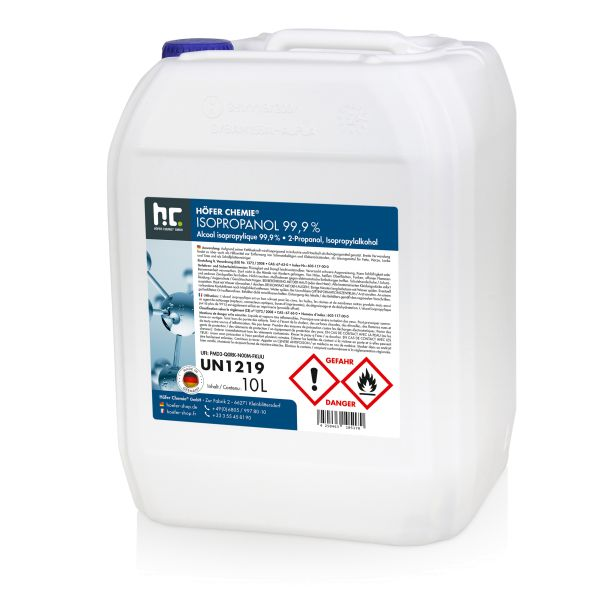 10 L Isopropanol 99,9%