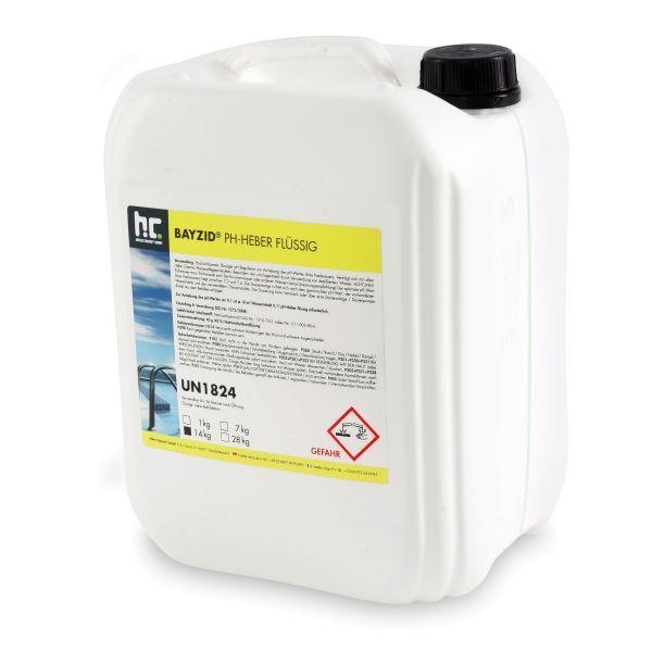 BAYZID pH Heber / pH-Plus flüssig im 14kg-Kanister