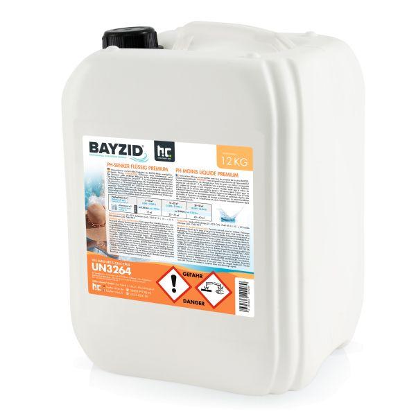 BAYZID pH minus / pH Senker flüssig 12kg