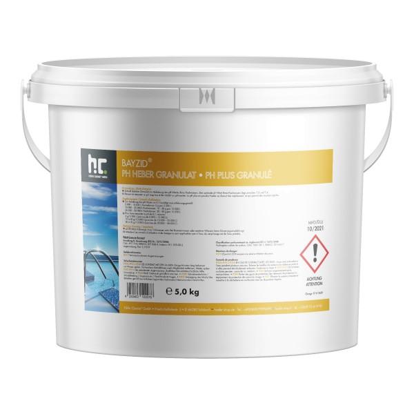 pH-Heber / pH-Plus Granulat BAYZID® von Höfer Chemie im 5kg Eimer