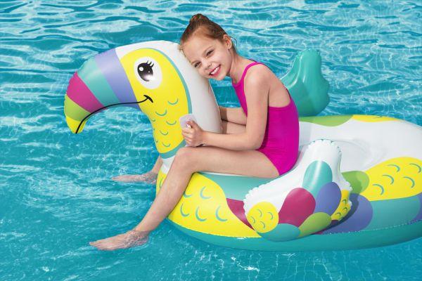 Pool Schwimmtier Toucan