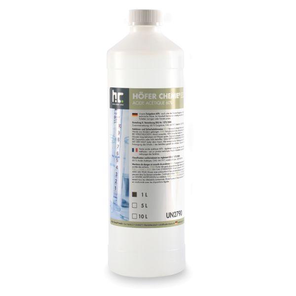 Essigsäure 1 Liter Flasche Höfer Chemie Galerie