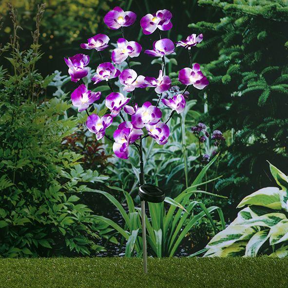 Gartenstecker Orchidee