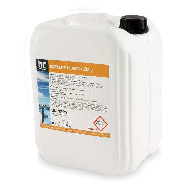 BAYZID pH minus / pH Senker flüssig 14kg