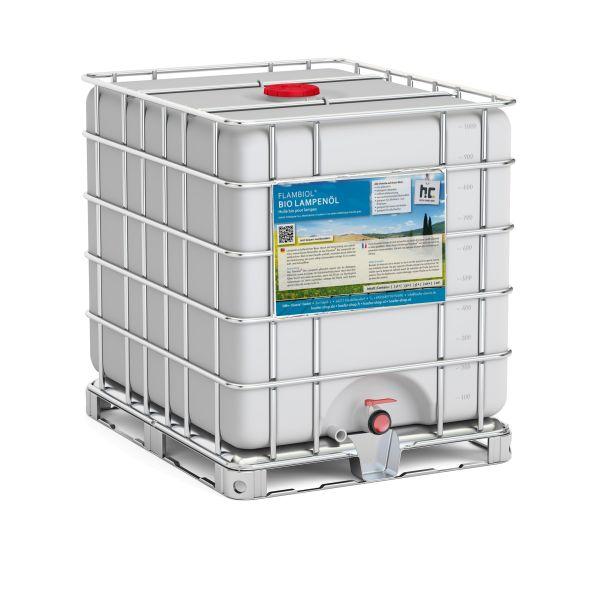 850 kg Bio Lampenöl im IBC