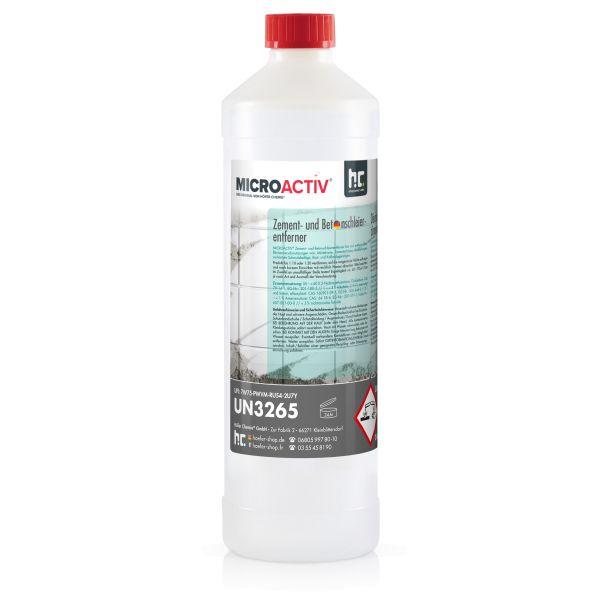 1 Liter Flasche Zement- und Betonschleierentferner