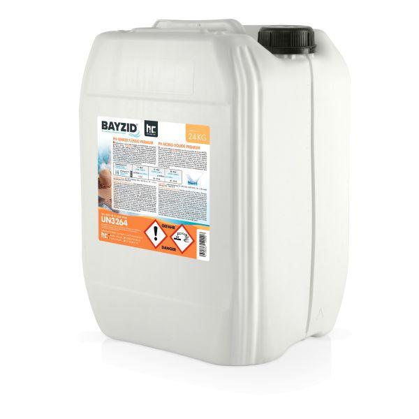 24kg flüssiger pH Senker (pH Minus) von Höfer Chemie