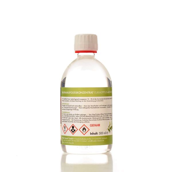 Saunaaufguss Eukalypthus-Menthol 500 ml