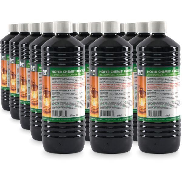 15x1 Liter Petroleum Galerie Brennstoff Höfer Chemie