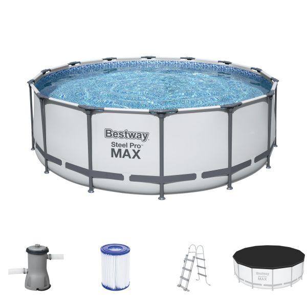 Steel Pro MAX™ 4,27 m x 1,22 m Pool Set