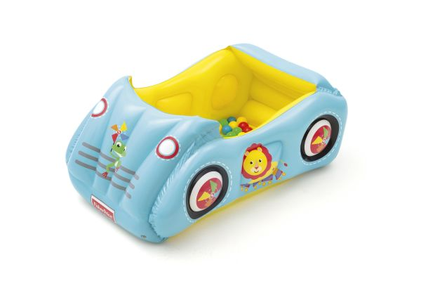 Fisher Price Bällebad Rennauto