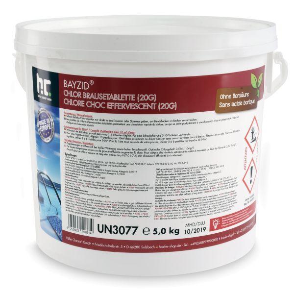 BAYZID 20g-Brausetabletten im 5kg Eimer von Höfer Chemie