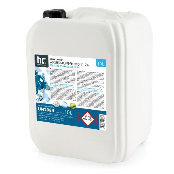 Wasserstoffperoxid 11,9% Höfer Chemie