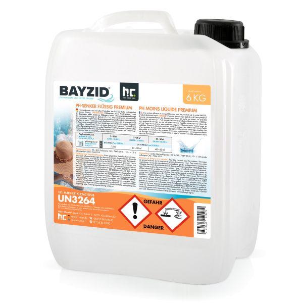 pH-Minus flüssig BAYZID 6 kg Höfer Chemie (pH-Senker)