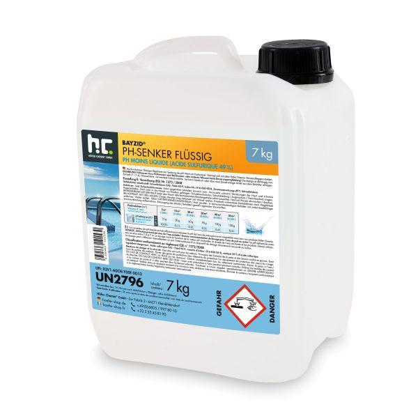 pH-Minus flüssig BAYZID 7kg Höfer Chemie (pH-Senker)