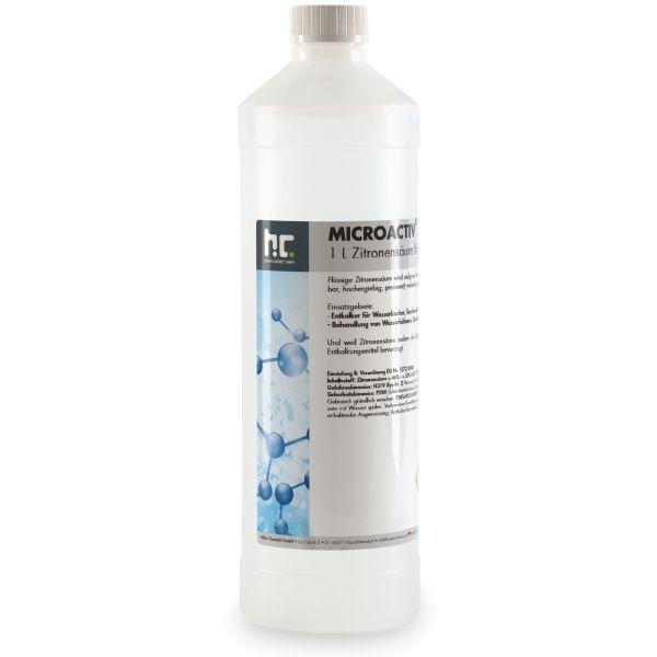 Höfer Chemie Zitronensäure 50%ig flüssig (Entkalker) Microactiv® power