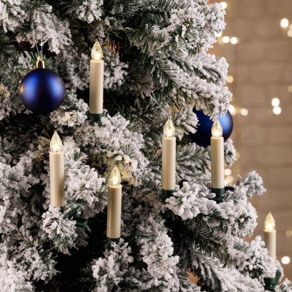 Kabellose LED Weihnachtskerzen für Innen & Außen