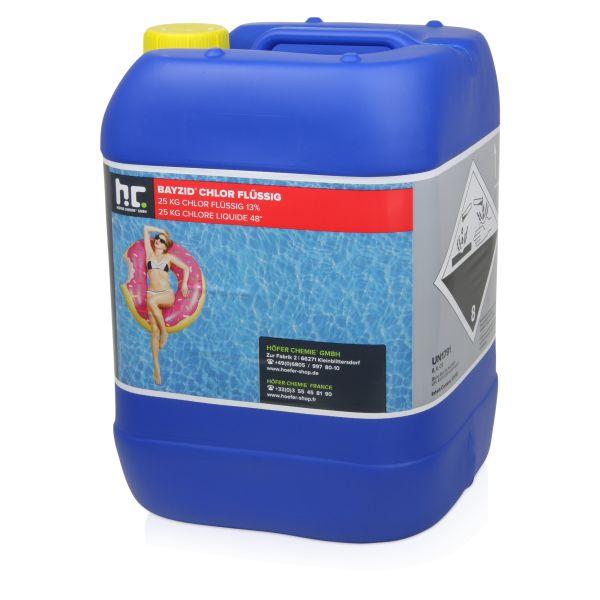 Chlor fluessig 25kg Kanister
