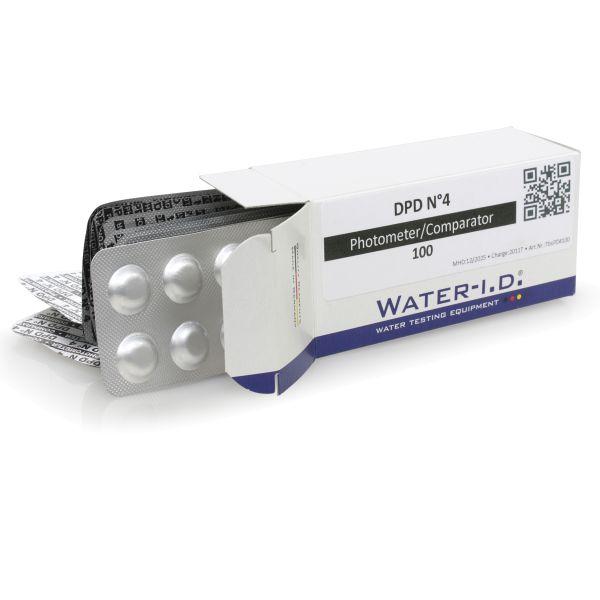 DPD No.4 Tabletten - Aktivsauerstoff für elektronischer Poolwassertester PoolLab