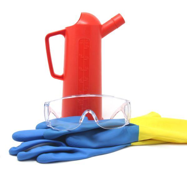 schutz-set für chemikalien