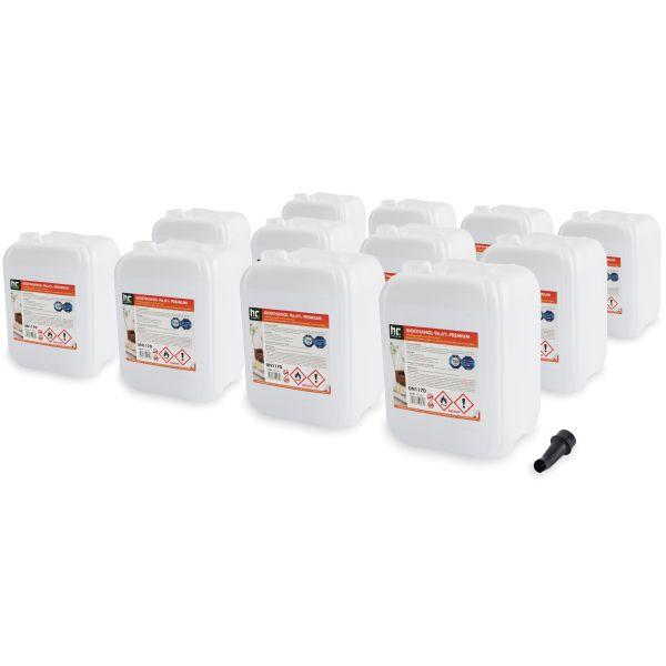 12 x 10 Liter Bioethanol 96,6% für Ethanolkamin von Höfer Chemie im 10l Kanister